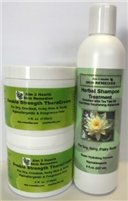 Buy 2 Double Strength TheraCreams & Get 1 Herbal Shampoo Treatment FREE!