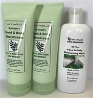 Buy 2 My Daughter's Hand & Body TheraCreams & Get 1 Face & Body Wash FREE!