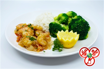 #21 Garlic Shrimp Stir-fry