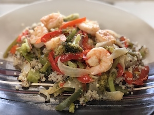 #42 Shrimp Stir Fry Entree