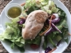 #44 Grilled Chicken over Garden Salad
