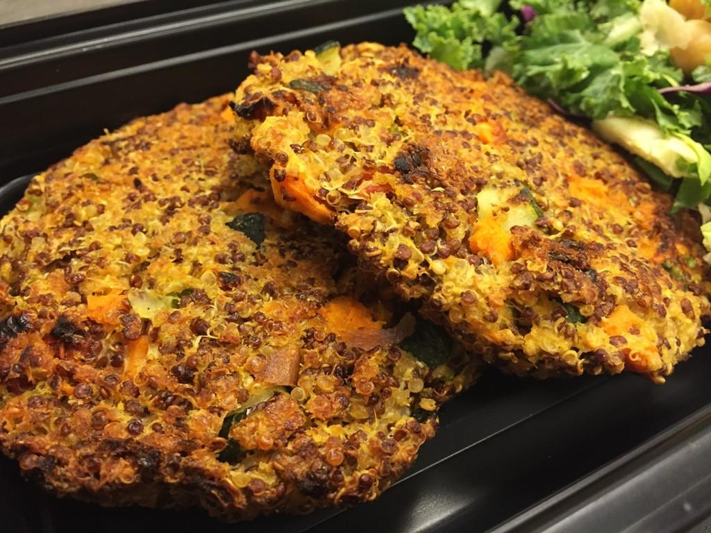 29 Garden Veggie Quinoa Cakes (Vegan)