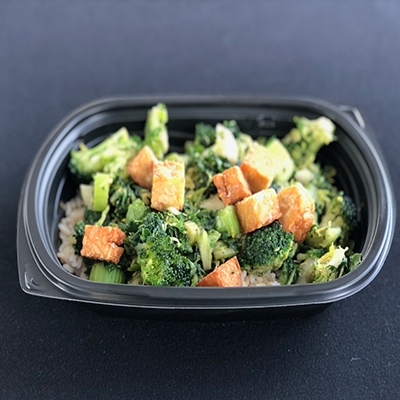 #26 Lean Green Stir Fry w/ Tempeh (Vegan)