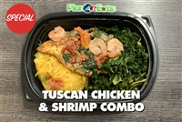 Tuscan Chicken and Shrimp combo