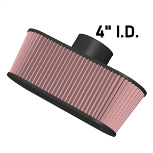 "Halltech 4"" Black Bee Filter"