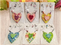 Silvestri Hanging Heart, Assorted
