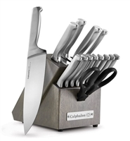 Calphalon Classic Full Stainless Steel 15-Piece Knife Block Set