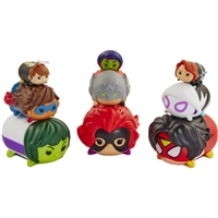 Disney Tsum Tsum 9pk Marvel Women Of Power Figures