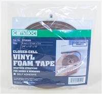 Closed Cell Vinyl Foam Tape  9mmx12mmx3m