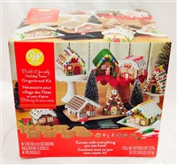 Wilton Build it Yourself Holiday Town Gingerbread Kit