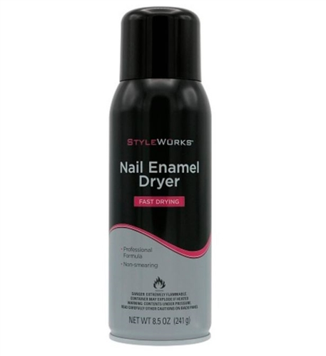 StyleWurks Nail Enamel Dryer Spray, 8.5 oz