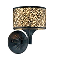 179 Eurofase 19117-010 Melosa 1-Light Sconce, Bronze