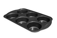 Bakers Tip 6 Cup Jumbo Muffin Pan