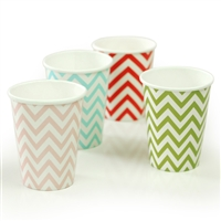 Party Supplies 8 Strip Paper Cups
