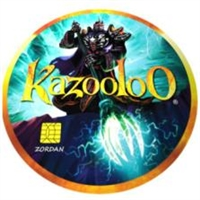 Kazooloo Augmented Virtual Reality Mobile Gameboard - Lord Zordon