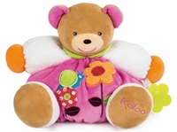 Kaloo COLORS Bear-Flower Toy - Large