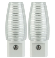 Great Value Incandescent / LED Night Light, Pack of 2
