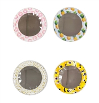 Set of 4 Small Round Mirrors