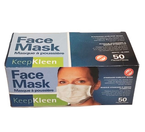 High Quality 3-PLY Disposable Face Masks - 50PCS/PK