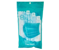 High Quality 3-Ply Disposable Medical Face Masks - 10PCS/PK