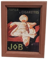 "Framed Art Print ""Papier A Cigarettes Job, 1912"" by Leonetto Cappiello"