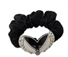 Novelty Inc. - Black Velvet Butterfly Ponytail Holder