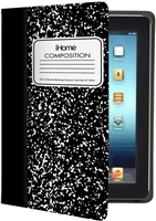 iHome Composition Notebook Folio Case for iPad