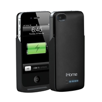 iHome Power Case - 2,000 mAh Battery Case for iPhone 4/4s