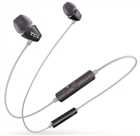TCL SOCL100BT in-Ear Earbuds Bluetooth Headphones, Black