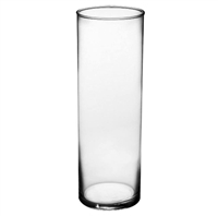 "Syndicate Sales 3 1/2"" x 10 1/2"" Cylinder Vase, Clear"