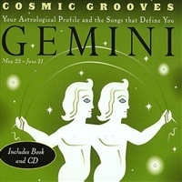 Cosmic Grooves Gemini- Book and CD