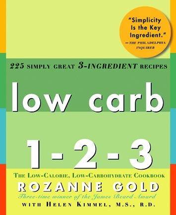 Low Carb 1-2-3 By Rozanne Gold