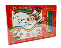 Rainbow Brush Color Blend Markers Far East