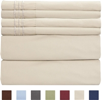 Swan Linens- 2 Pack Set Sheet, Queen