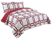 Coast to Coast Living Quilt Set, 3-pc Queen/King