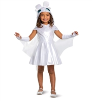 Disguise Light Fury Classic How to Train Your Dragon Girls Costume