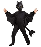 Disguise How to Train Your Dragon Toothless Classic Costume for Boys