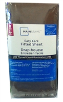 Mainstays Easy Care Fitted Sheet - Double