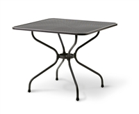 "MESH TOP TABLE, 32"" SQUARE"