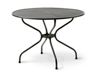 "MESH TOP TABLE, 42"" ROUND"