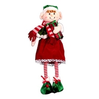 "Christmas Elf. Free Standing. 20"" Tall"