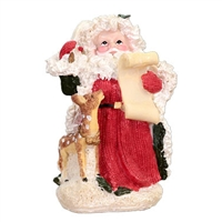 Santa with scroll. Figurine Small