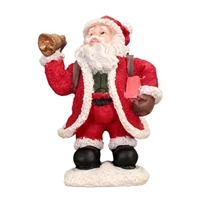 Santa with bell. Figurine Small