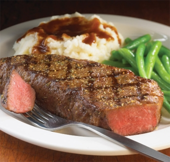 1855 New York Strip Steaks - Five Star Foods