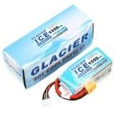 Glacier ICE 95C 1550mAh 4S 14.8V LiPo Battery