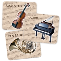Personalized Instrument Mouse Pad