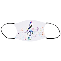 Music Expressions Face Mask