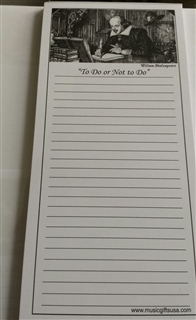 "Shakespeare ""To Do or Not to Do"" Note Pad"