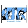 Greeting Card - Happy Birthday Blues