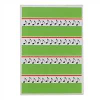 Greeting Card - 8th Notes (Quavers)